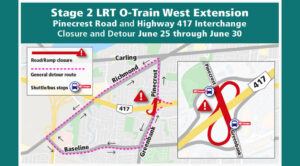 O-Train West extension