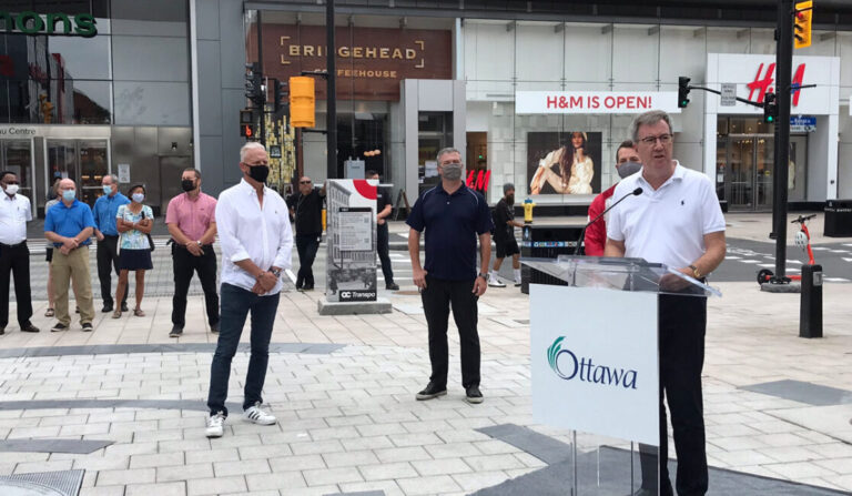 Ottawa celebrates reopening of Rideau and William streets