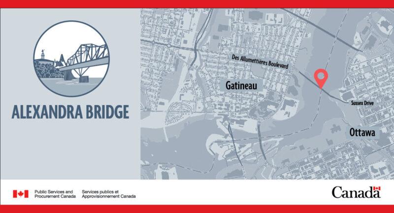Alexandra Bridge boardwalk temporarily closed