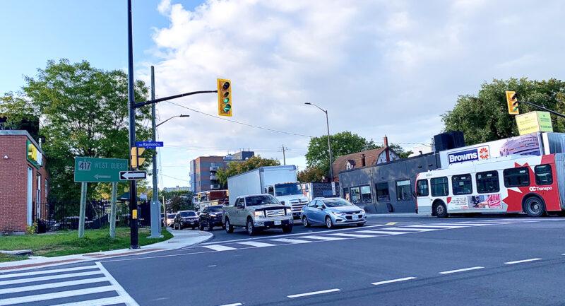 Ottawa traffic impacts effective April 22